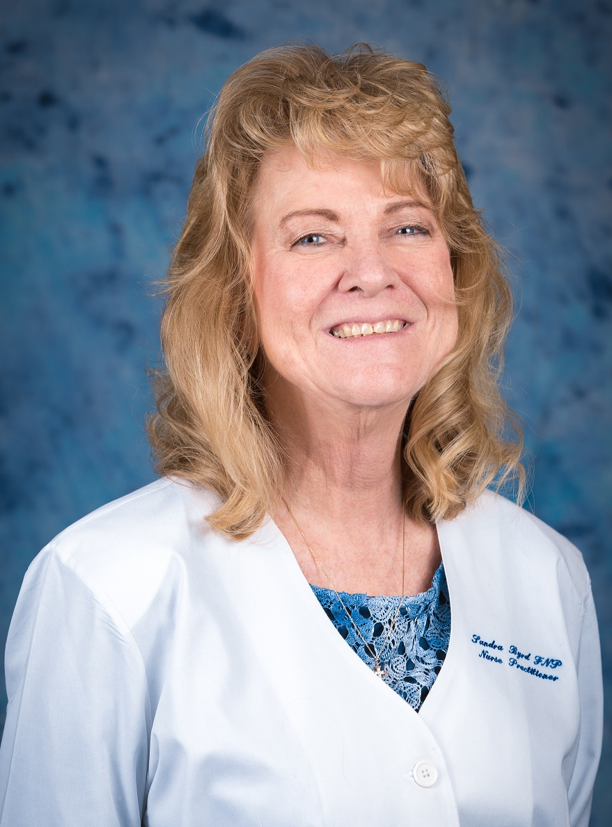 Sandra Byrd, FNP of Mountain View Family Medicine